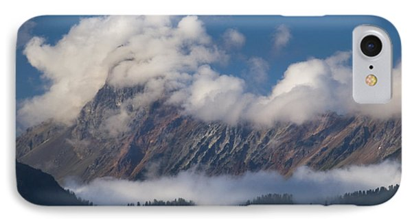 IPhone 7 Case featuring the photograph Cascade Mountains by Yulia Kazansky