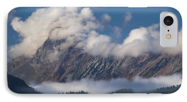 IPhone Case featuring the photograph Cascade Mountains by Yulia Kazansky