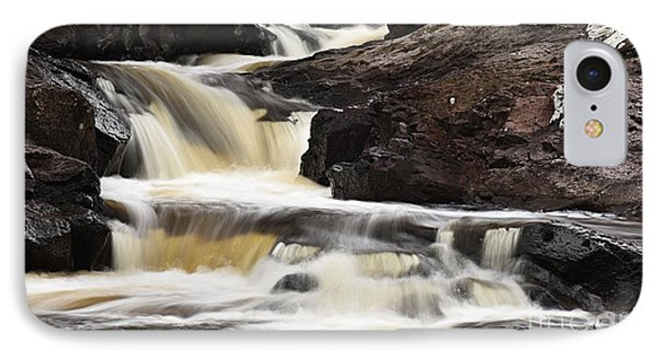 IPhone Case featuring the photograph Cascade On The Two Island River by Larry Ricker