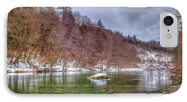 IPhone Case featuring the photograph Cascade River Rocks by Spencer McDonald