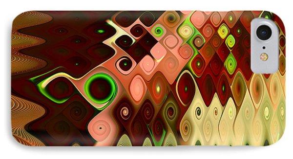 Cascade IPhone Case by Vicky Brago-Mitchell