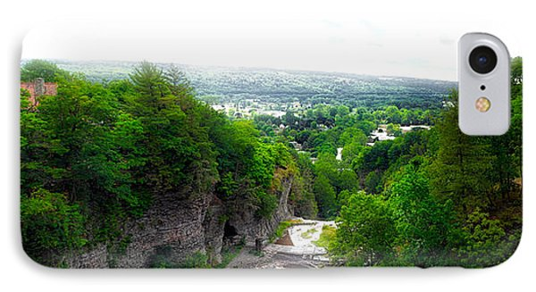 Cascadilla Gorge Cornell University Ithaca New York Panorama IPhone Case by Thomas Woolworth