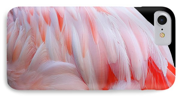 IPhone Case featuring the photograph Cascading Feathers by Elvira Butler
