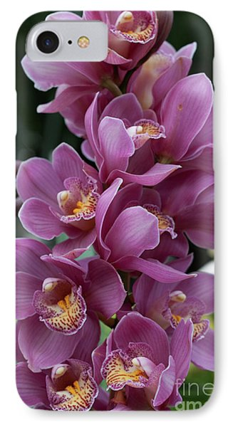 Cascading Orchids IPhone Case