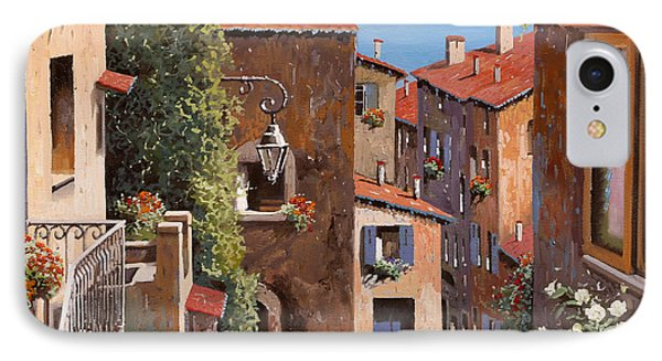 casette a Cagnes IPhone Case by Guido Borelli