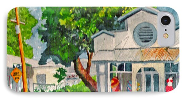 IPhone Case featuring the painting Caseys Place by Eric Samuelson