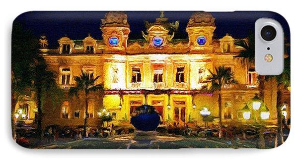 Casino Monte Carlo IPhone Case by Jeff Kolker