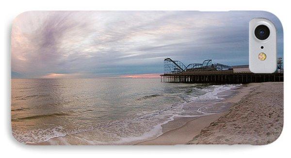 Casino Pier Sunrise IPhone Case by Robert Siliato