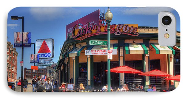 Cask'n Flagon And The Citgo Sign - Boston IPhone Case by Joann Vitali