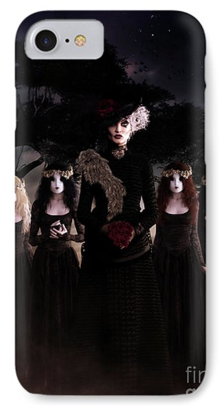 IPhone Case featuring the digital art Casquette Brides by Shanina Conway
