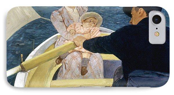 Cassatt: Boating, 1893-4 Phone Case by Granger
