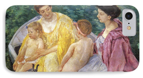 Cassatt: The Swim, 1910 Phone Case by Granger