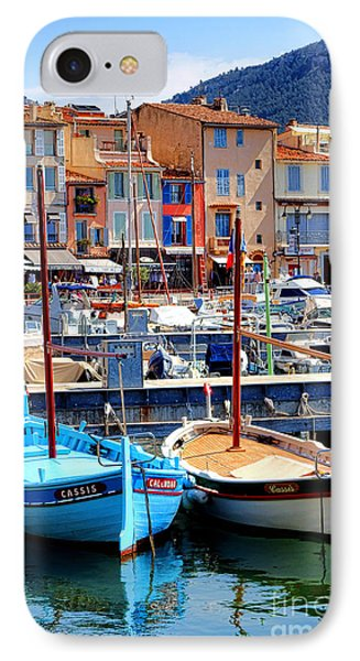 IPhone Case featuring the photograph Cassis Harbor by Olivier Le Queinec