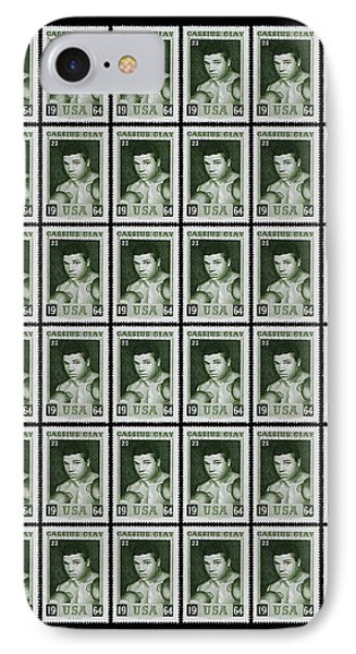 Cassius Clay World Champion Stamp IPhone Case