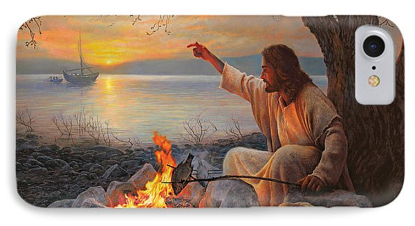 Beach iPhone 7 Case - Cast Your Nets On The Right Side by Greg Olsen