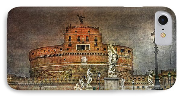 IPhone Case featuring the photograph Castel Sant Angelo Fine Art by Hanny Heim