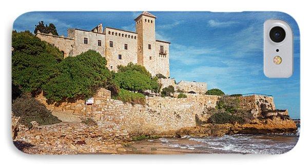 Castell De Tamarit Tarragona Spain IPhone Case by Joan Carroll