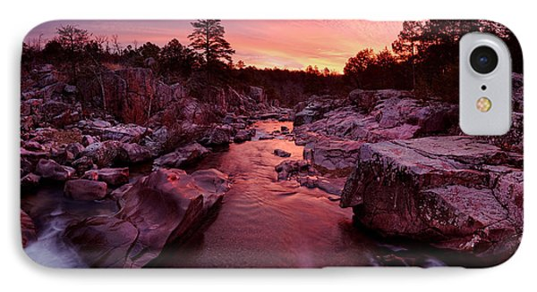 Caster River Shutins IPhone Case by Robert Charity