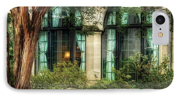 Castle - The Castle Windows IPhone Case by Mike Savad