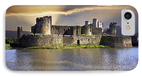 Castle At Dawn IPhone Case