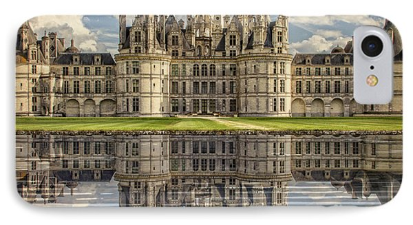 IPhone Case featuring the photograph Castle Chambord by Heiko Koehrer-Wagner