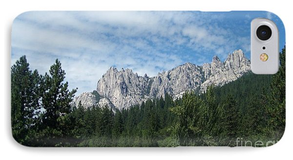 Castle Crags Phone Case by Charles Robinson