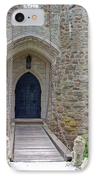 Castle Entrance Phone Case by Suzanne Gaff