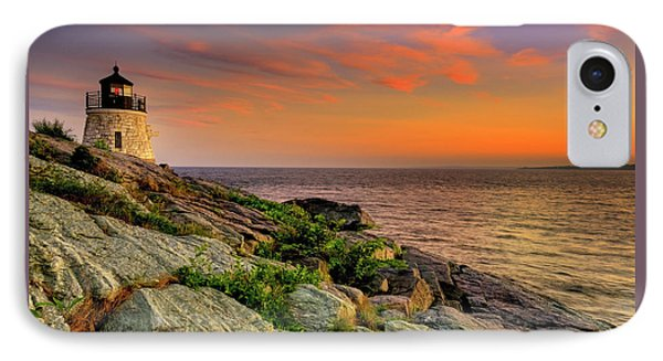 Castle Hill Lighthouse - Newport Rhode Island IPhone Case