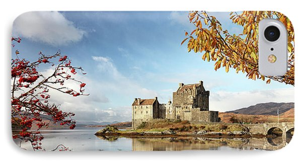 IPhone Case featuring the photograph Castle In Autumn by Grant Glendinning