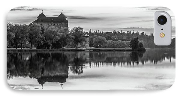 Castle In Black And White IPhone Case