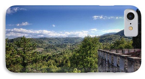 Castle In Chianti, Italy IPhone Case