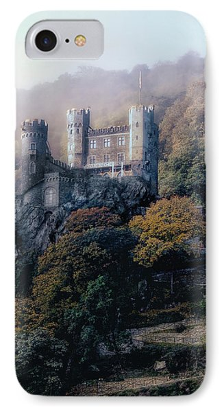 IPhone Case featuring the photograph Castle In The Mist by Jim Hill