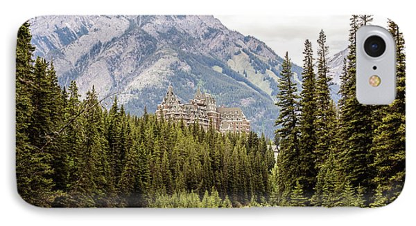 Castle In The Mountains IPhone Case by Scott Pellegrin