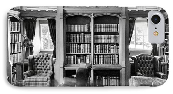 IPhone Case featuring the photograph Castle Library by Christi Kraft