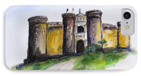 Castle Nuovo, Napoli IPhone Case by Clyde J Kell