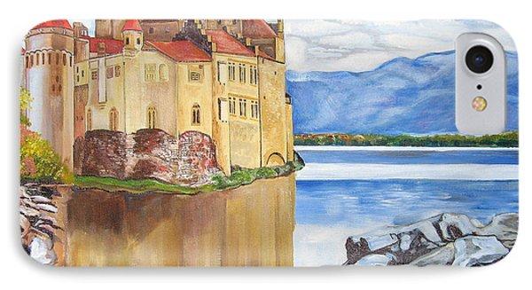 Castle Of Chillon IPhone Case by John Keaton