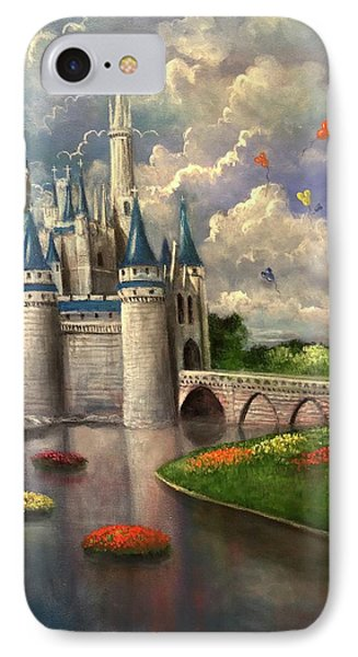 Castle Of Dreams IPhone Case by Randy Burns