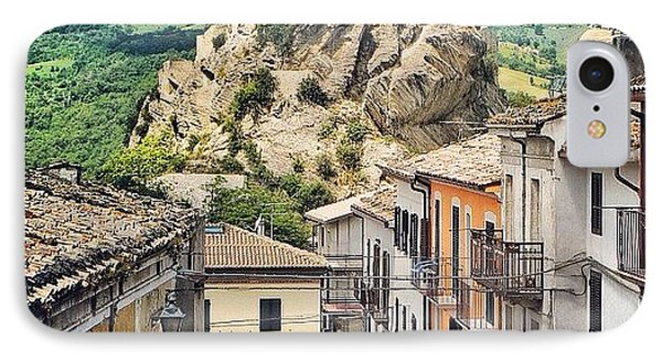 Castle Of Roccascalegna IPhone Case by Massimiliano Bellisario
