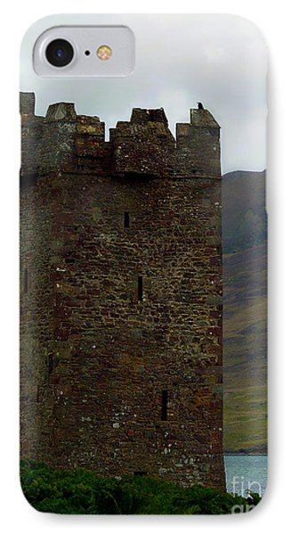 Castle Of The Pirate Queen IPhone Case by Patricia Griffin Brett