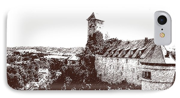 IPhone Case featuring the photograph Castle On The Hill by Ken Frischkorn