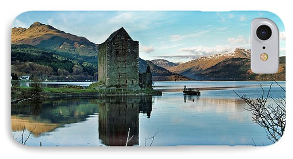 Castle On The Loch IPhone Case by Lynn Bolt