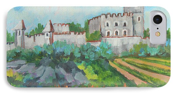 Castle On The Upper Rhine River IPhone Case by Diane McClary
