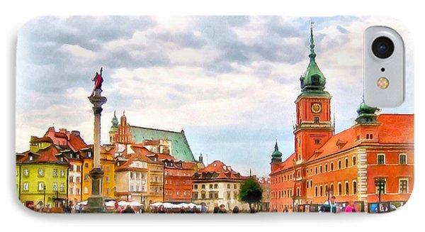 Castle Square, Warsaw IPhone Case