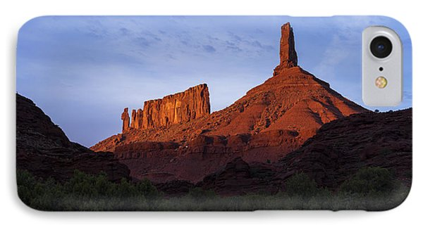 Castle Towers IPhone Case by Chad Dutson