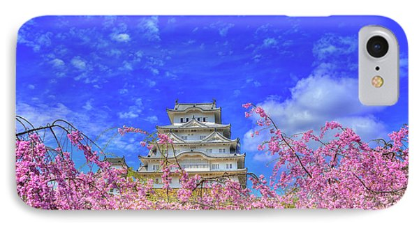 Castle's Blossom IPhone Case by Midori Chan