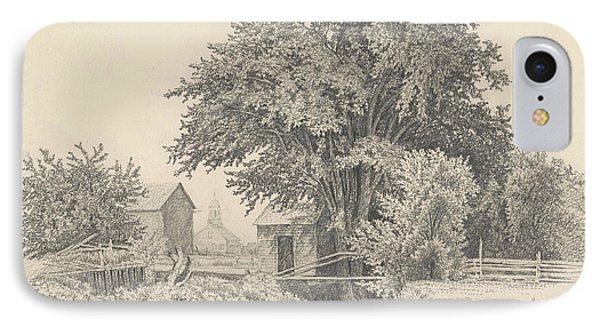 Castleton, Vermont, 1871 IPhone Case