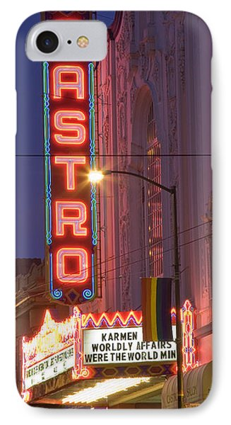 Castro Theater San Francisco IPhone Case by Matthew Bamberg