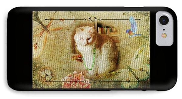 Kitty Cat Composite Art II IPhone Case