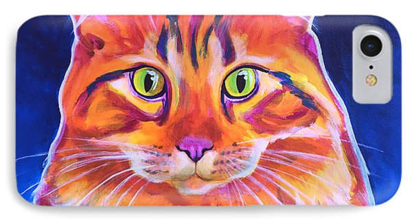 Cat - Cosmo IPhone Case by Alicia VanNoy Call