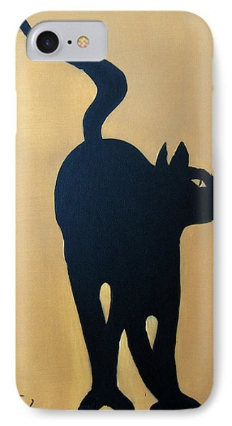 Cat Dance..... Optical Illusion Phone Case by Patrick Trotter
